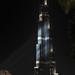 DUBAI - Burj Khalifa večer