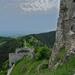 Z Čachtického hradu...