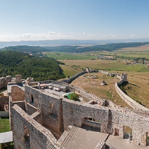 Výhľad zo Spišského hradu