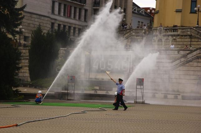 hasičský útok