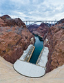 hover dam view