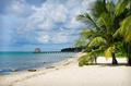 white sand paradise