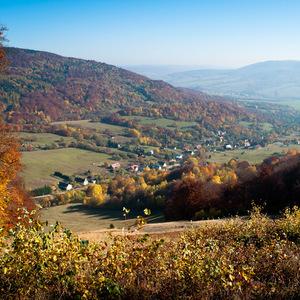 Jesenná dedina