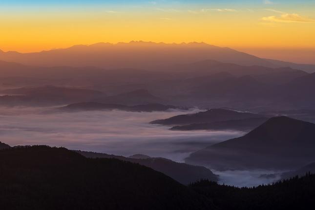 ráno na vrchole