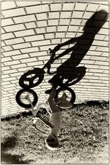 Mala cyklistka