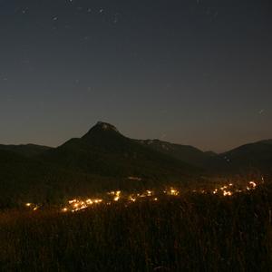 Polnoc nad Muráňom