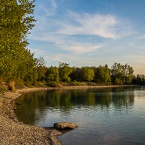 Ivanske jazero - pano