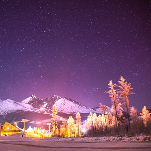 Magic Night in Tatras