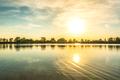 Jazero Sutrovka v Ivanke