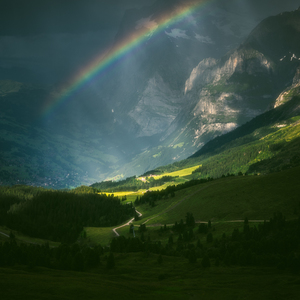 Under the rainbow tones