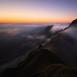 On the Top Of Lauberhorn