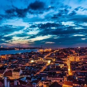 Lisabon z hradu