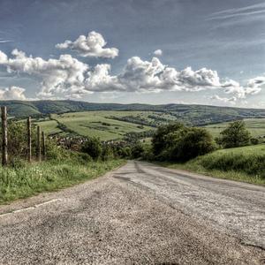 Cesta do dediny