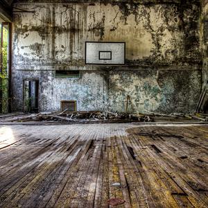 Telocvičňa - Pripyať