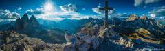 Na vrchole Monte Paterno 2746m