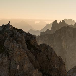 Ráno na Monte Cernera
