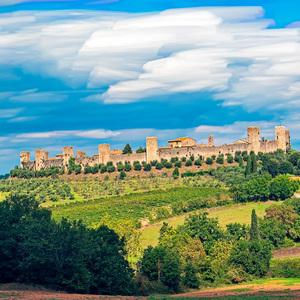 Monteriggioni (Toskánsko)