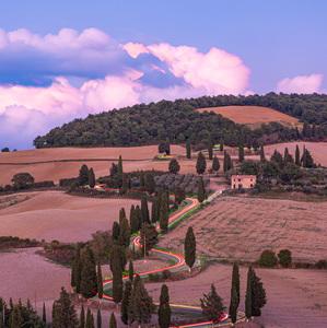 Curve di Monticchiello (Toscana)