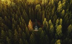 Kaplička v Ticháčkově lese