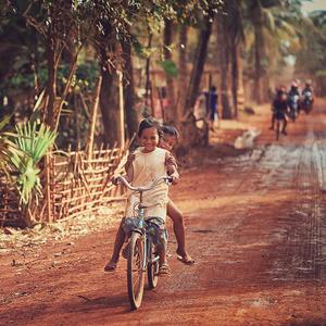 Kambodžské detstvo