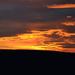 Včerajší západ slnka
