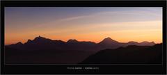 Haute-Savoie •• Sunset