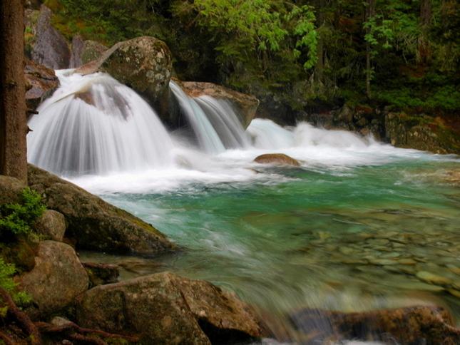 Vodopády Studeného potoka 2