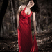 Red Dress Pose 1