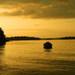 Západ Slnka na ostrove Lidingo