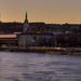 Večer nad Dunajom