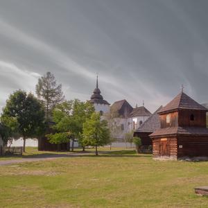 Pribylina Village