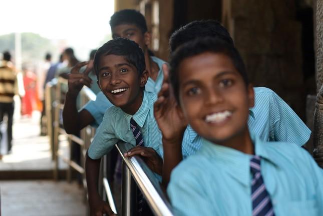 Skolsky vylet v Indii