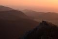 Západ slnka nad Ostrým kameňom 2