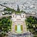 Trocadéro tilt shift