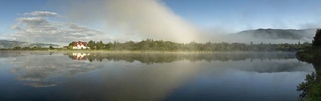 Jedno ráno pri rybníku