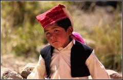 Mladý peruánsky chalan