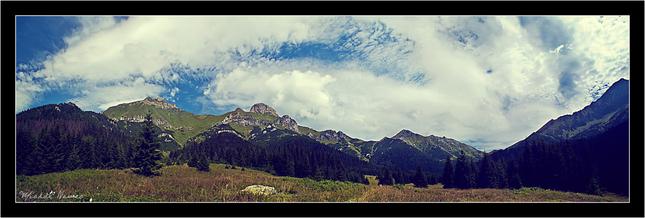 Panorama Tatranska Javorina