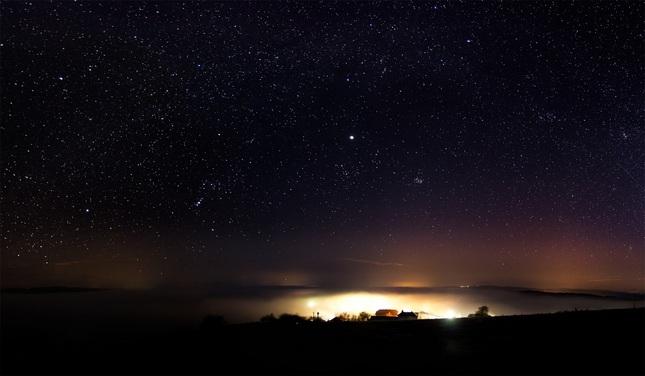 Noc nad Dúbravou