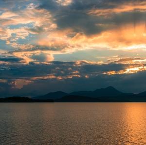 západ slnka na Lipt.Mare