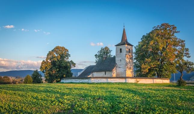 kostol Ludrová