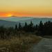 Kojšovská Hoľa - Západ slnka