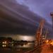 Búrka v Komárne