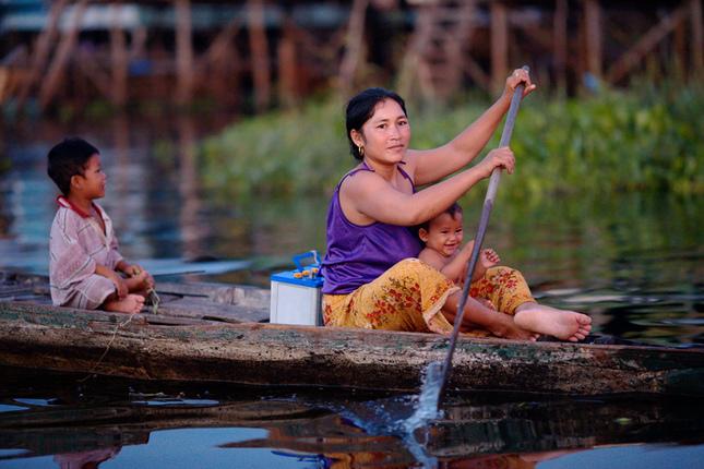 Elektrorozvodna siet a la Kambod