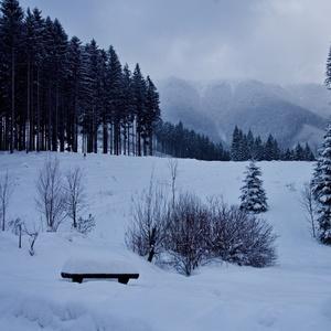 zima v Štefanovej