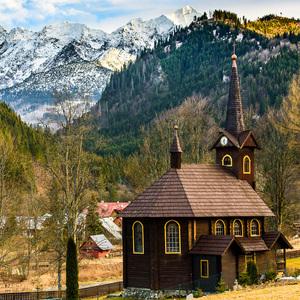 Kostolík pod Tatrami