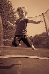 na trampoline