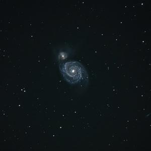 Vírová galaxia M 51