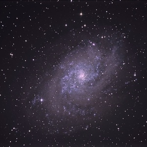 M33 - Galaxia v Trojuholníku