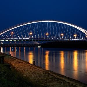 Pohľad na most.......