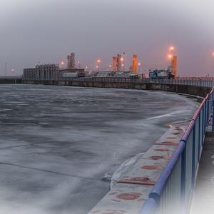 Zamrznutý Dunaj......